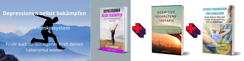 Banner Depression mit Bücher